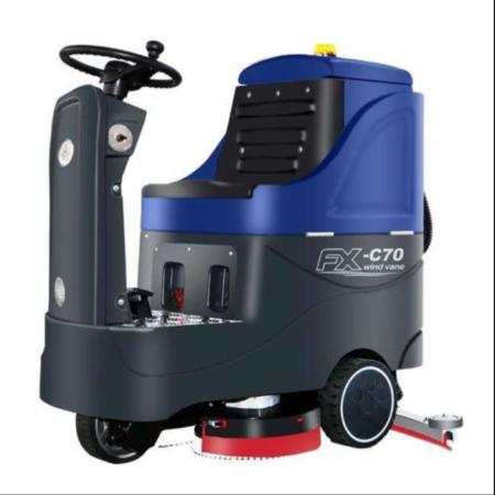 征翔 驾驶式洗地机 ZX-C70 洗地机厂家直销自动拖地机厂家