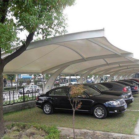 膜结构停车棚定做多少钱 福建景观膜结构停车棚
