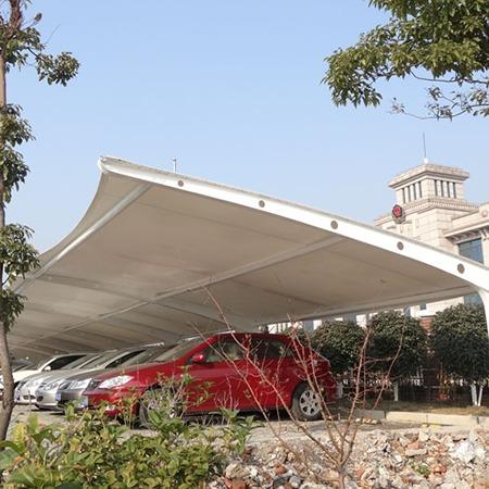 武汉膜结构停车棚 膜结构停车棚价格