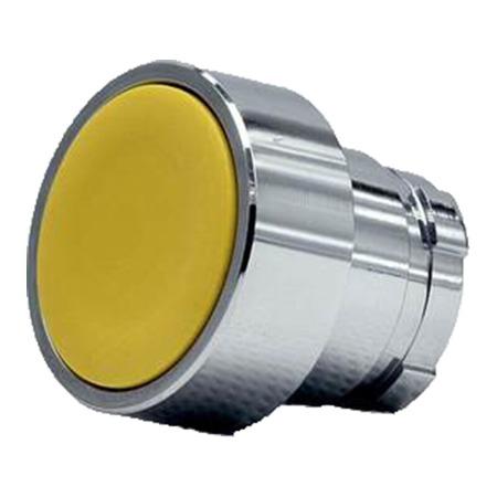 施耐德按钮指示灯      ZB2BA5C 平头按钮头 黄色