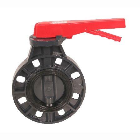 常州旭腾塑业专业生产PVC手柄蝶阀,规格齐全