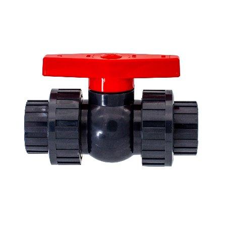 常州旭腾塑业专业生产PVC简易活接球阀规格齐全