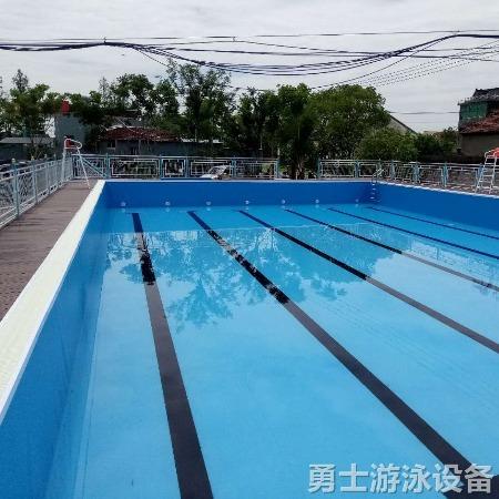 沧州勇士 移动式游泳池厂家直销 工期短 移动式游泳池实时报价 移动式游泳池