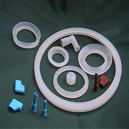 批发法兰垫硅胶法兰垫 食品级 耐高温硅胶垫片 透明导热