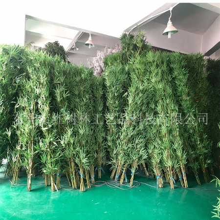 仿真竹子-仿真绿植-假竹子价格-假竹隔断屏风-红树林厂家批发直销