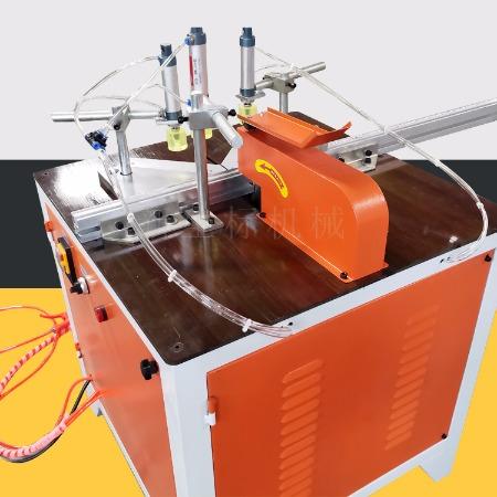 多功能移门锯切铝材切木材半自动切角机厂家直销