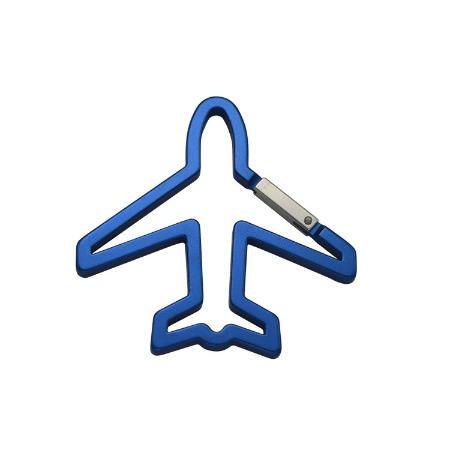 厂家直销 铝合金飞机形登山扣 户外异型登山扣