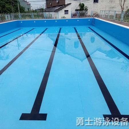 沧州勇士 儿童游泳池 厂家直销 工期短 拼装式游泳池实时报价 儿童戏水池生产商