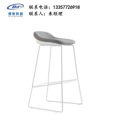 北欧休闲铁艺吧椅 创意简易型酒吧 实木吧椅 高脚凳定制 卓文办公家具休闲吧椅 YZ-17