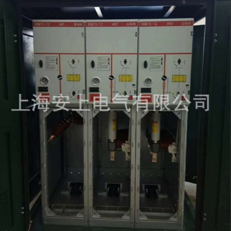上海安上 供应DFW-12欧式电缆分支箱价格 10kv一进三出四出电缆分接箱厂家