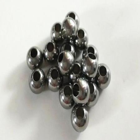 厂家专业加工各种规格钻孔钢球攻牙钢球包邮