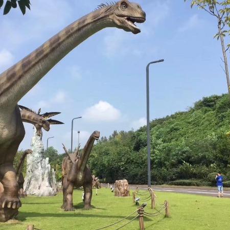 侏罗纪恐龙主题乐园 仿真恐龙制作 恐龙租赁模型 恐龙模型道具设备