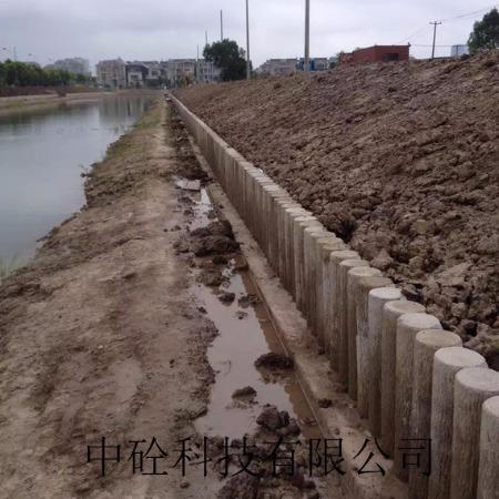 预制空心仿木桩 厂家直销根据客户需求定制生产基地上海南通河南济宁盐城泰兴海安