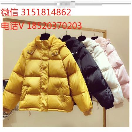 广州女装批发 便宜冬季棉衣服装批发 库存女装 棉服尾货清货