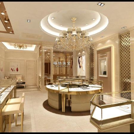 商场珠宝展柜 商场珠宝展柜专业定制制作的厂家