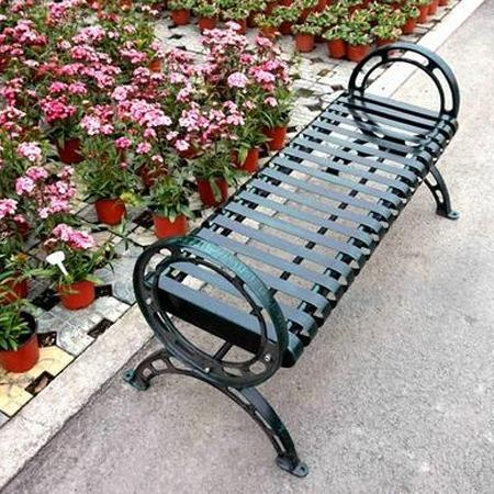 厂家直销 公园金属椅子户外长椅园林休闲椅室外座椅 休息长椅子定制