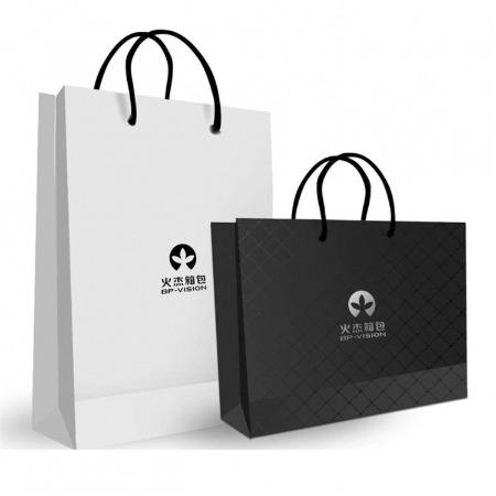 定制加印logo手提袋 专业印刷厂设计制作一步到位