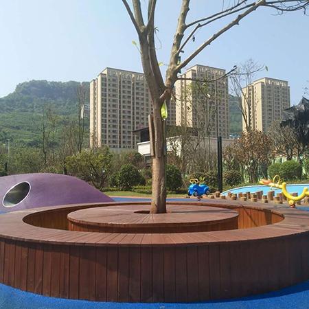 公园休闲座椅  首选重庆鑫安园林 厂家直销 环保美观 坚固耐用