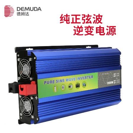 纯正逆变器 2000瓦 12V24v转220v车载 房车 光伏大功率逆变器