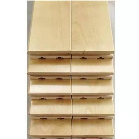昊霖体育厂家直销学校运动木地板 羽毛球木地板  篮球场木地板 实木地板厂家