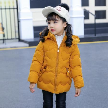 厂家直销_新款冬装女童棉衣加厚中长款儿童棉服宝宝棉袄外套多种颜色