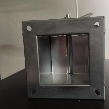 德州润博 手动风量调节阀 镀锌板手动调节阀 生产厂家 证件齐全 厂价直销