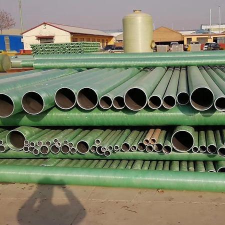 玻璃钢电缆管电缆穿线管道frp复合夹砂管通风管道玻璃钢排污管