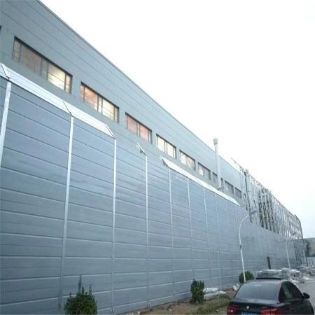 盛迈亿  专业生产 工厂隔声屏障 弧形声屏障 彩钢板声屏障 值得信赖