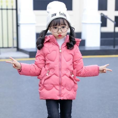 厂家直销_新款冬装女童棉衣加厚中长款韩版儿童棉服宝宝棉袄外套
