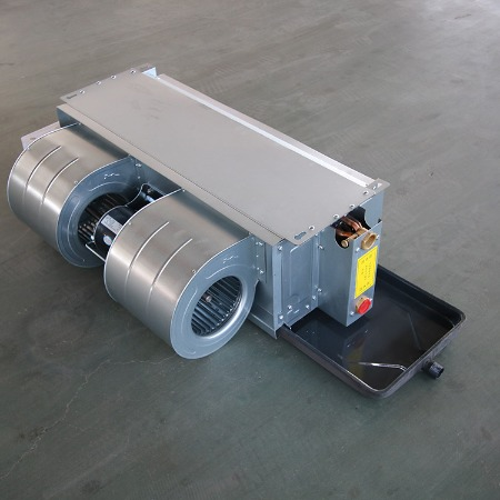 厂家供应中央空调末端风机盘管 卧式暗装风机盘管 空调盘管机