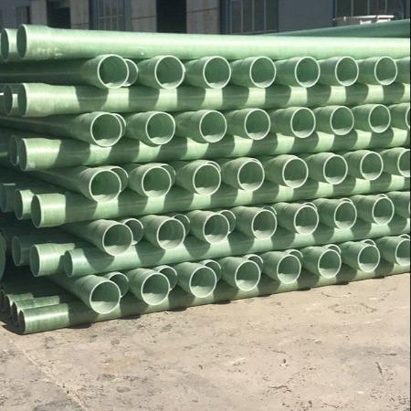 河北厂家加工定做玻璃纤维夹砂玻璃钢电缆保护管DN150
