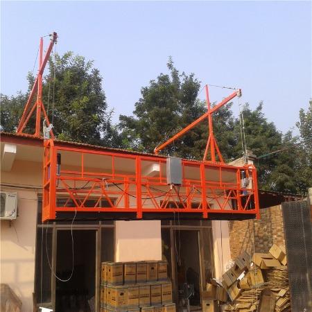建筑电动吊篮 高空作业电动吊蓝 外墙施工吊蓝厂家定制直销