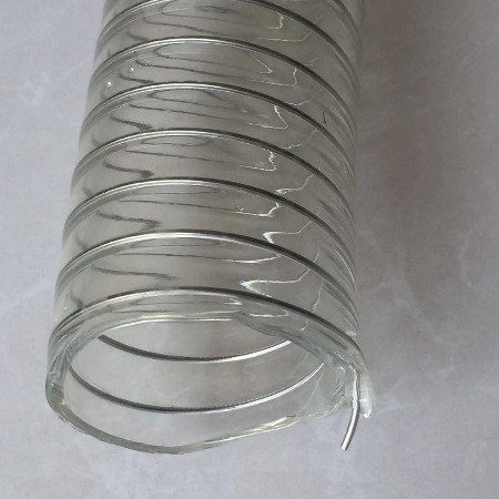 PU钢丝平滑管进口食品级无塑化剂钢丝平滑管