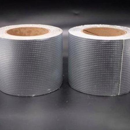 粘接性强耐高低温丁基胶带 抗老化铝箔丁基胶带