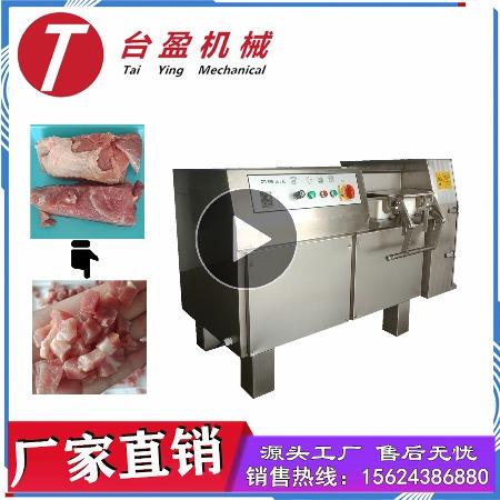 台盈TYW-350型冻肉切丁机 商用冻肉切条机 厂家直销多功能肉类切丁/条机