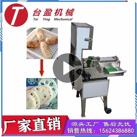 台盈TYW-805型莲藕切片机 商用切藕片机 厂家直销全自动切菜机