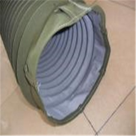 专销帆布防尘伸缩管 橡胶伸缩软管 橡胶钢丝波纹管 方便快捷
