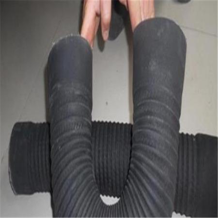 加工耐高温伸缩软管 耐高温风管 橡胶钢丝波纹管 品种齐全