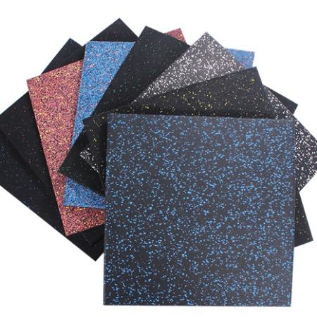 橡胶垫厂家直销 室内耐磨防水橡胶地垫价格 健身房防滑地垫报价