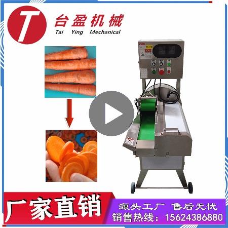 台盈TYW-805型胡萝卜切片机 商用切胡萝卜机 厂家直销多功能切片机