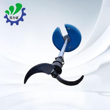 立式环流搅拌机 搅拌机供应 立式搅拌机 水下立式环流搅拌机 浮筒中速潜水搅拌机