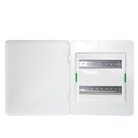 施耐德配电箱 天朗系列 暗装家用电箱 强电箱布线箱 暗装白色门 双暗装24回路