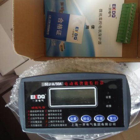 上海一开厂家直销电动机保护装置WJB+800/5智能电动机保护器
