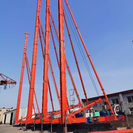 河北中原桩工专业制造cfg打桩机 长螺旋打桩机 出土快垂直度高