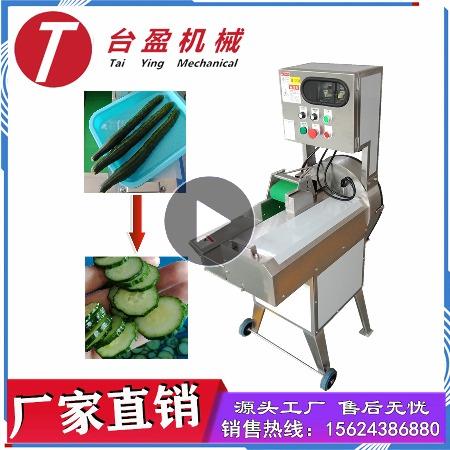 台盈TYW-805型黄瓜切片机 商用切黄瓜机 厂家直销全自动切菜机