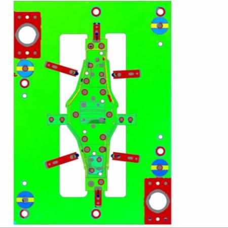 天津宝坻区京测科技精密模具3D扫描检测-专业设计模具一站式服务三维激光扫描仪价格
