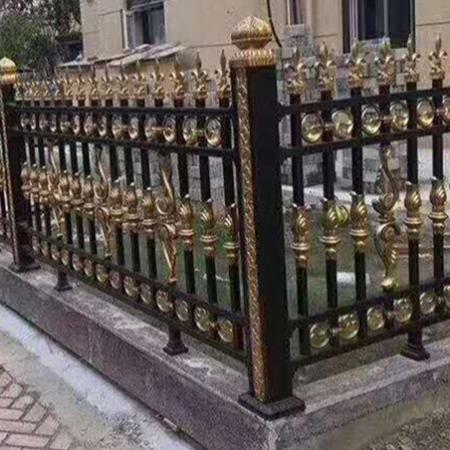 厂家直销 别墅铝艺护栏 庭院防护栏杆铝合金围墙小区栏杆阳台护栏自建房院子围栏