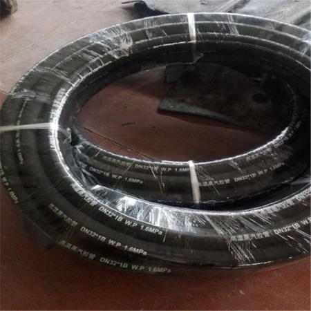 厂家直销高压钢丝蒸汽胶管 钢丝编织蒸汽胶管  夹布蒸汽胶管 质量好