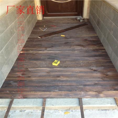 北京防腐木地板 厂家直销地板 防腐木平台施工 户外平台制作