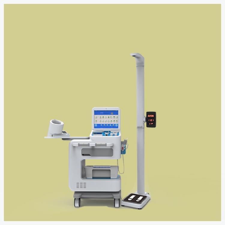 乐佳V6000型自助式便民智能健康小屋 强大的后台查询能力和数据统计功能